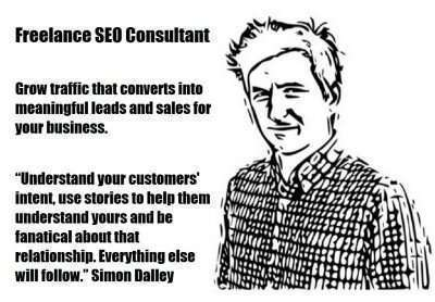 Freelance SEO Consultant Simon Dalley