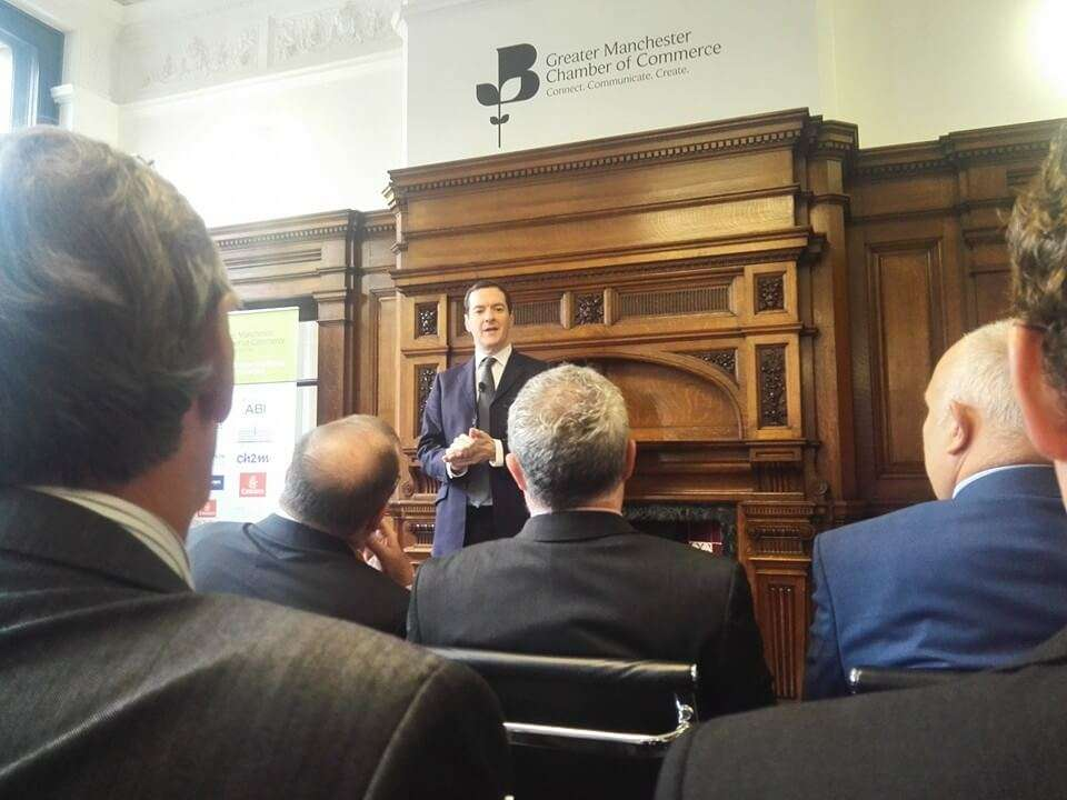 George Osborne at Greater Manchester Chamber of Commerce