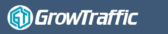 GrowTraffic Logo