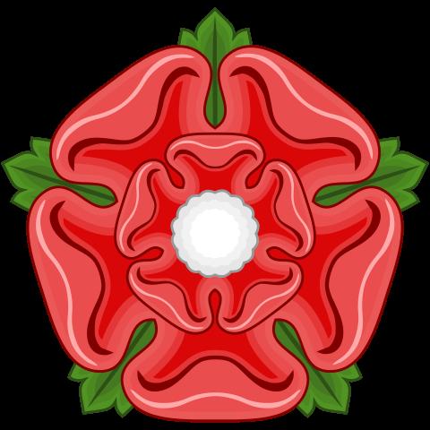 Red Rose Badge of Lancashire