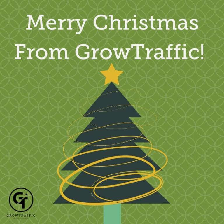Merry Christmas From GrowTraffic