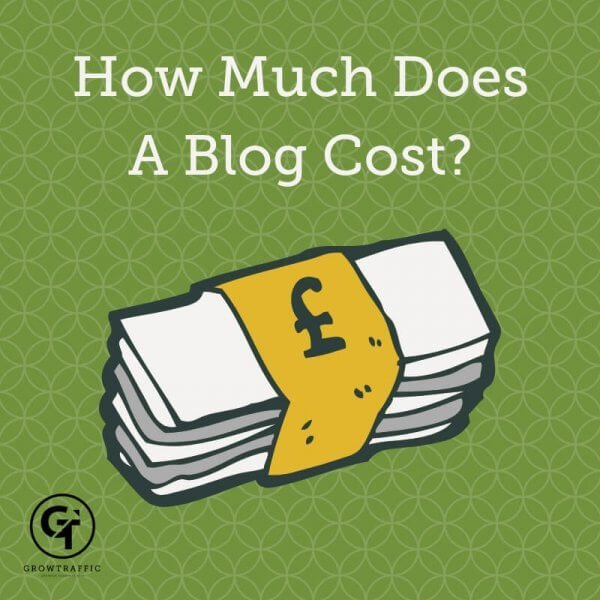 How Much Does A Blog Cost Title Graphic
