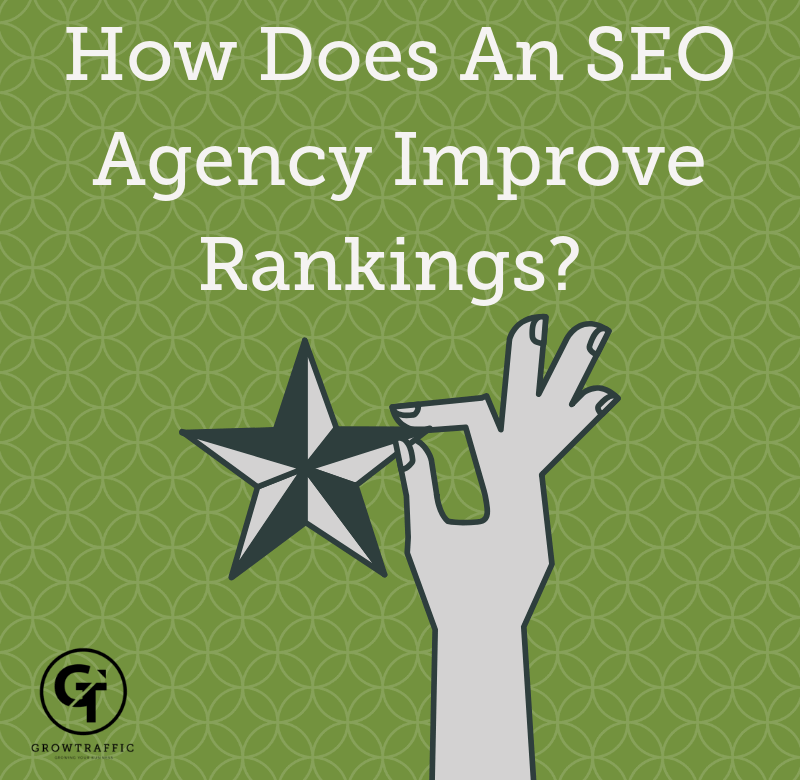How Does An SEO Agency Improve My Rankings? Title Graphic