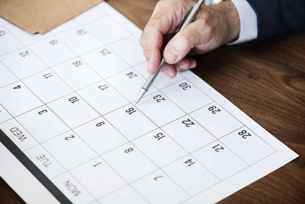 Include content aimed at buyer's in the consideration stage when creating content calendar