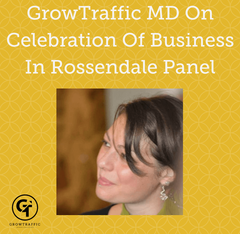 GrowTraffic MD On Celebration Of Business In Rossendale Panel
