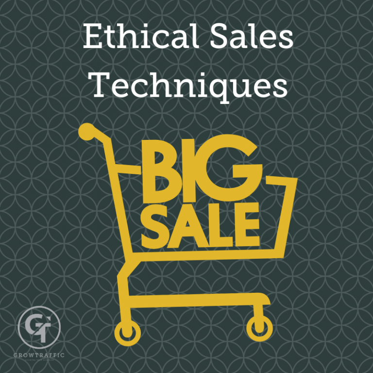 Ethical Sales Techniques
