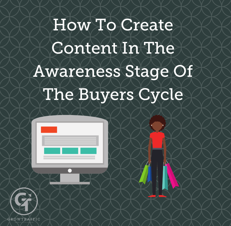GT Blog Title How To Create Content In The Awareness Stage Of The Buyers Cycle