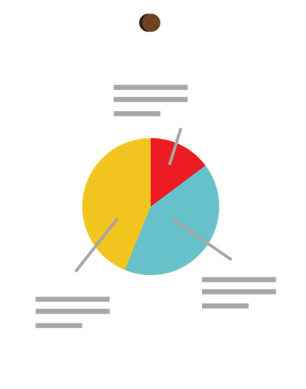 the image shows a pie chart