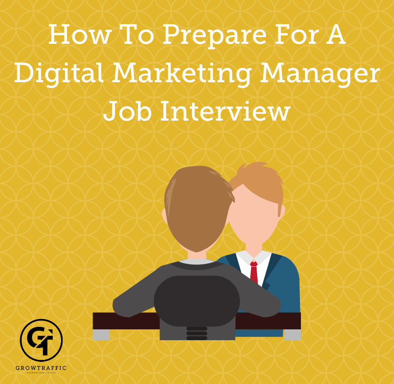How To Prepare For A Digital Marketing Manager Job Interview