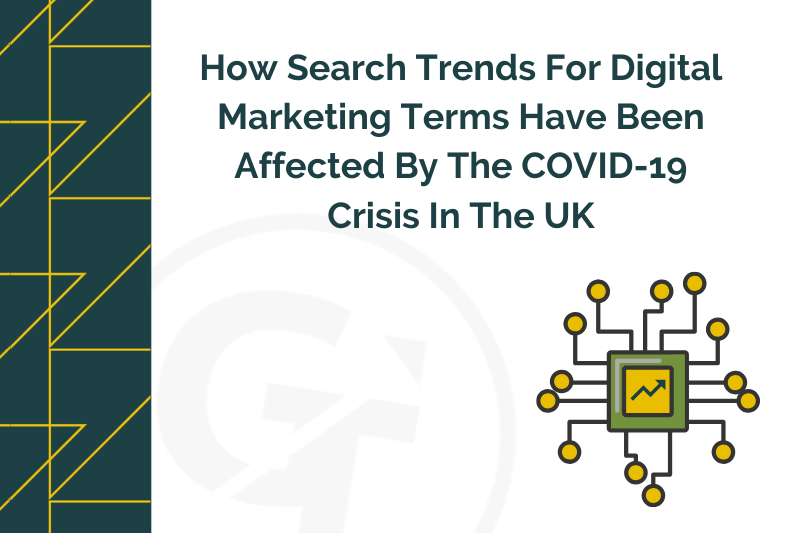 How Search Trends For Digital Marketing Terms Have Been Affected By The COVID-19 Crisis In The UK