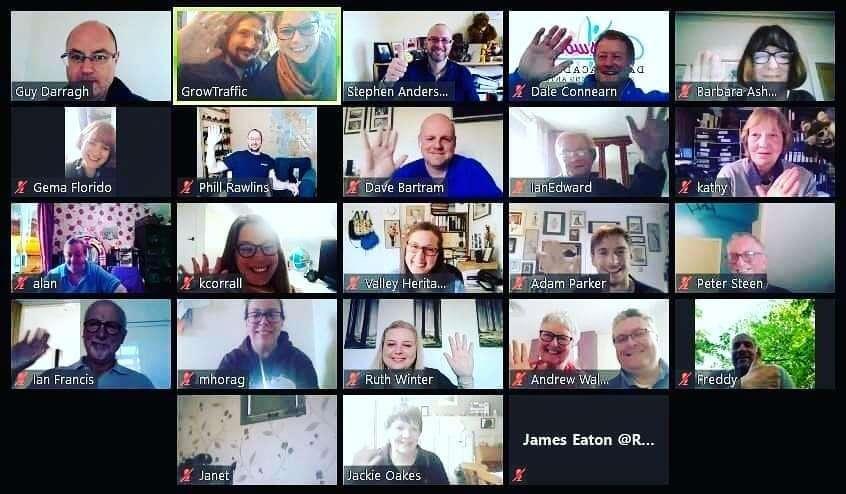 Bacup 2040 Partnership Board Virtual Meeting