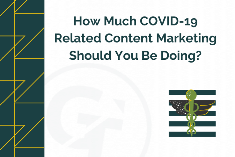 How Much COVID-19 Related Content Marketing Should You Be Doing?