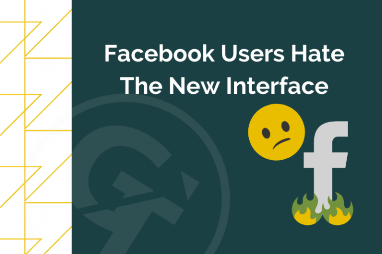 Facebook Users Hate The New Interface