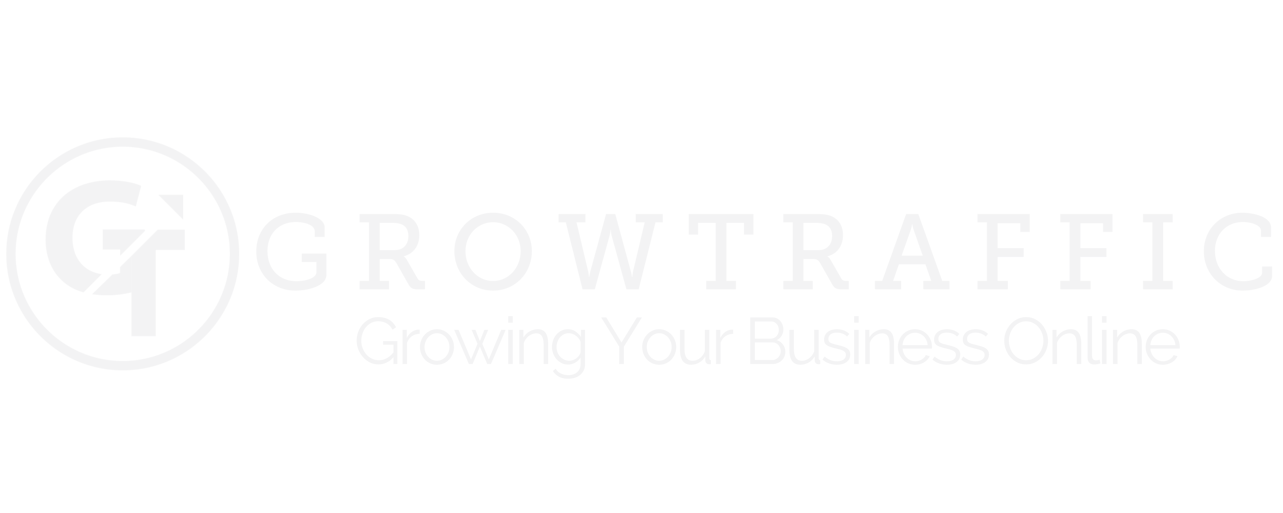 GorwTraffic Logo - Growing Your Business Online