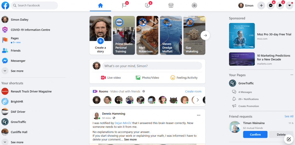 New facebook Interface Is Rubbish