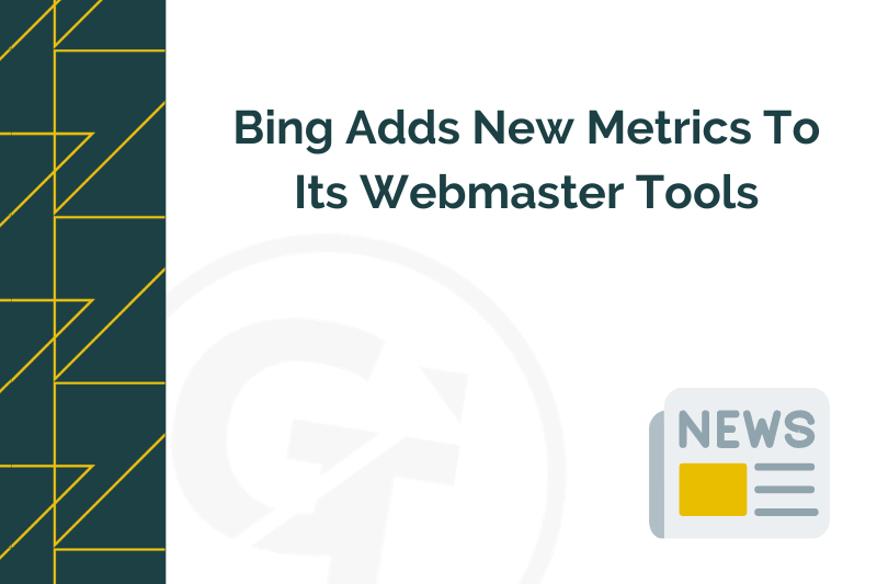 Title graphic for GrowTraffic newsjacking blog about Bing webmasters tools