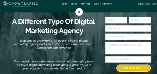 Call to actions can help convert traffic to leads