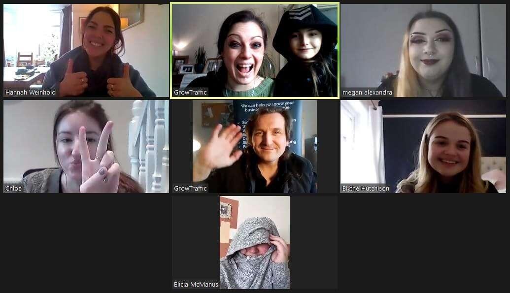 GrowTraffic Team Meeting