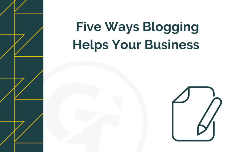 five ways blogging helps your business