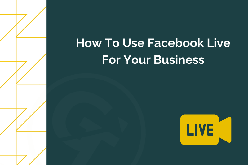 Title graphic for GrowTraffic blog about using Facebook Live for business