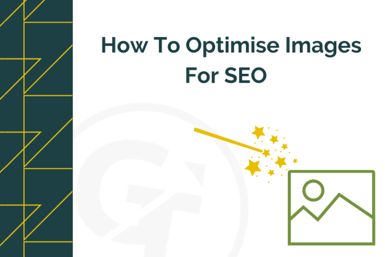 title graphic for how to optimise images for SEO