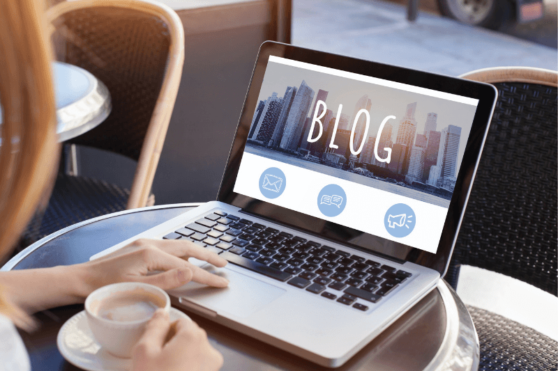 having a blog with useful content is good for local councils