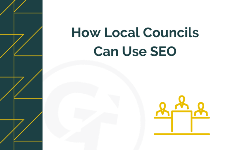Title graphic for GrowTraffic blog about how local councils can use SEO