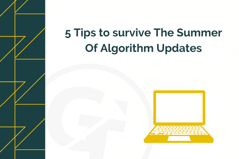 5 Tips to survive The Summer Of Algorithm Updates