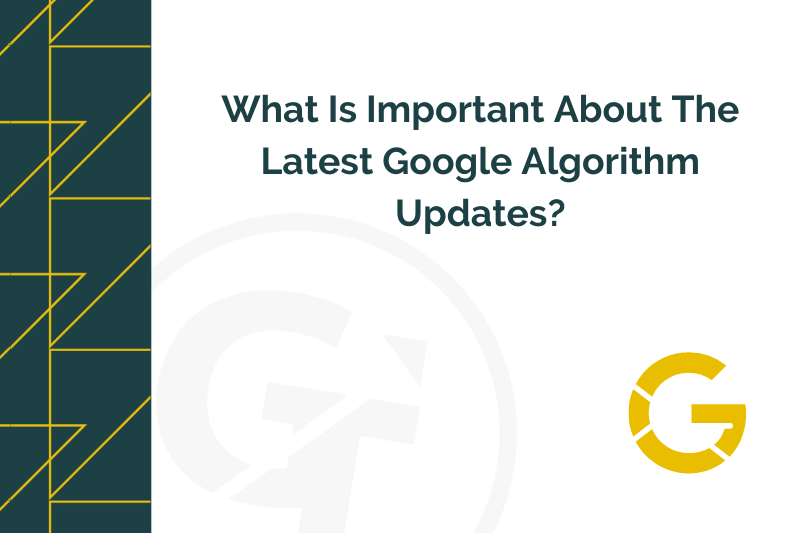 Title graphic for GrowTraffic blog about Google core update 2021