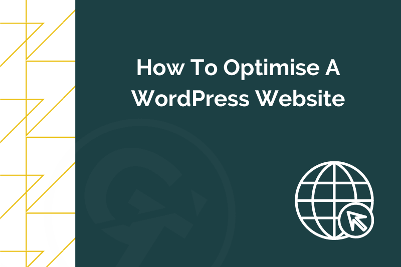 Title graphic for GrowTraffic blog about How To Optimise A WordPress Website