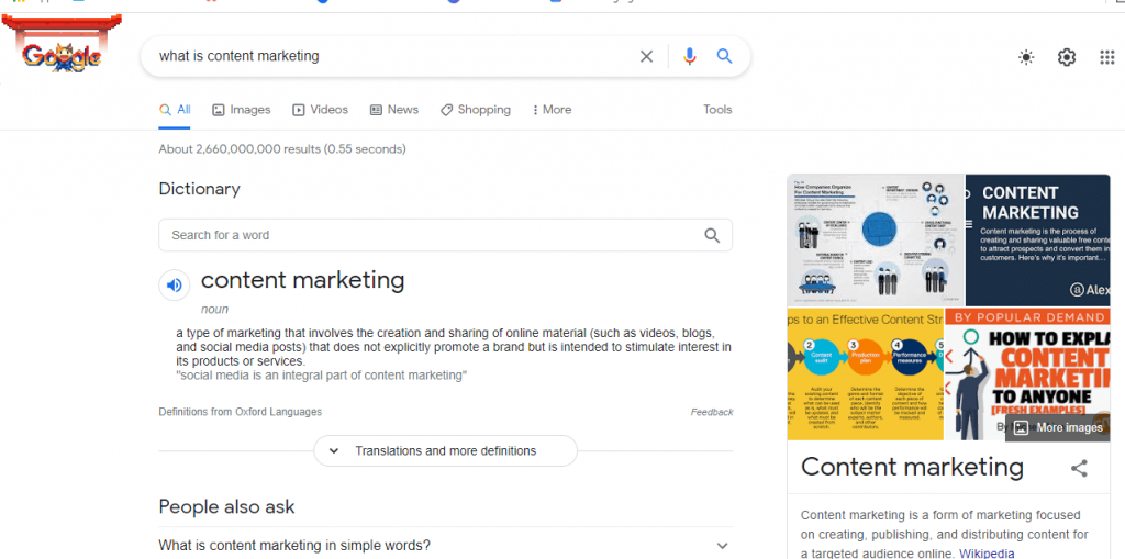 image for GrowTraffic blog about the change in keywords and featured snippets
