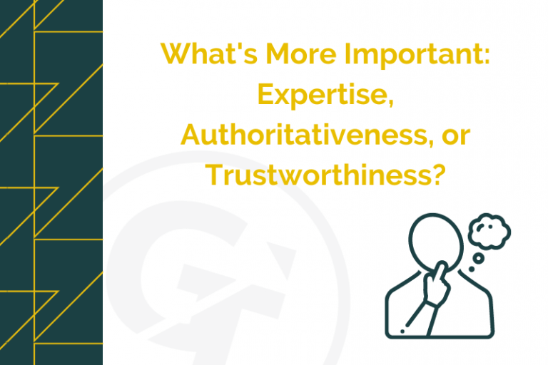What's More Important: Expertise, Authoritativeness, or Trustworthiness?