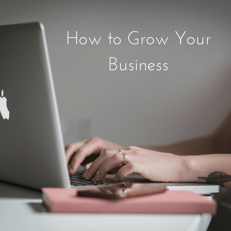 Image representing a blog from SEO consultancy, GrowTraffic, sharing their top 5 tips for planning growing a small to medium business.