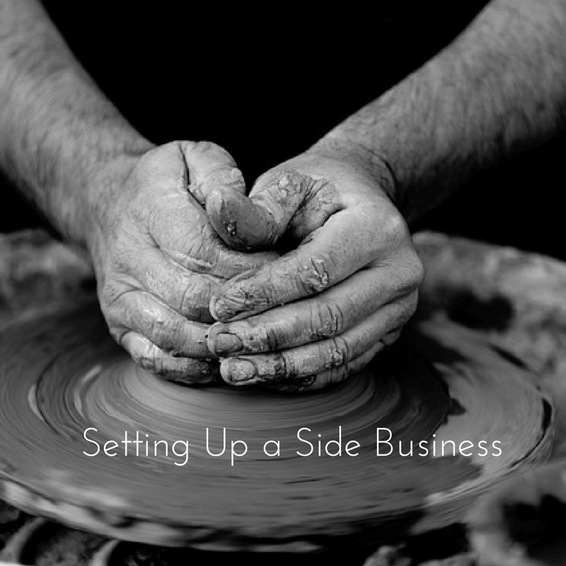 Setting up a sideline business