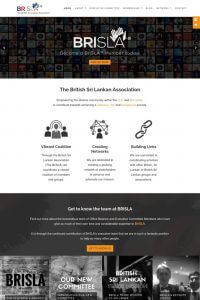 British Sri Lanka Association Website by GrowTraffic