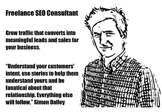 Freelance SEO Consultant Simon Dalley