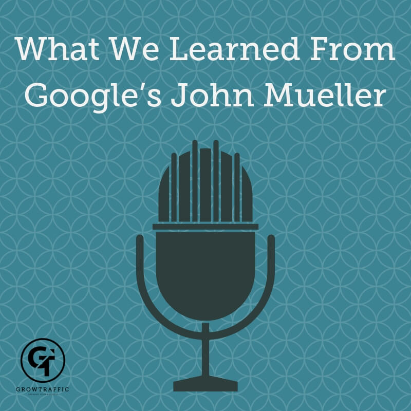 Learnings from Distilled's Will Critchlow's Interview With Google's John Mueller