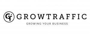 GrowTraffic horizontal logo