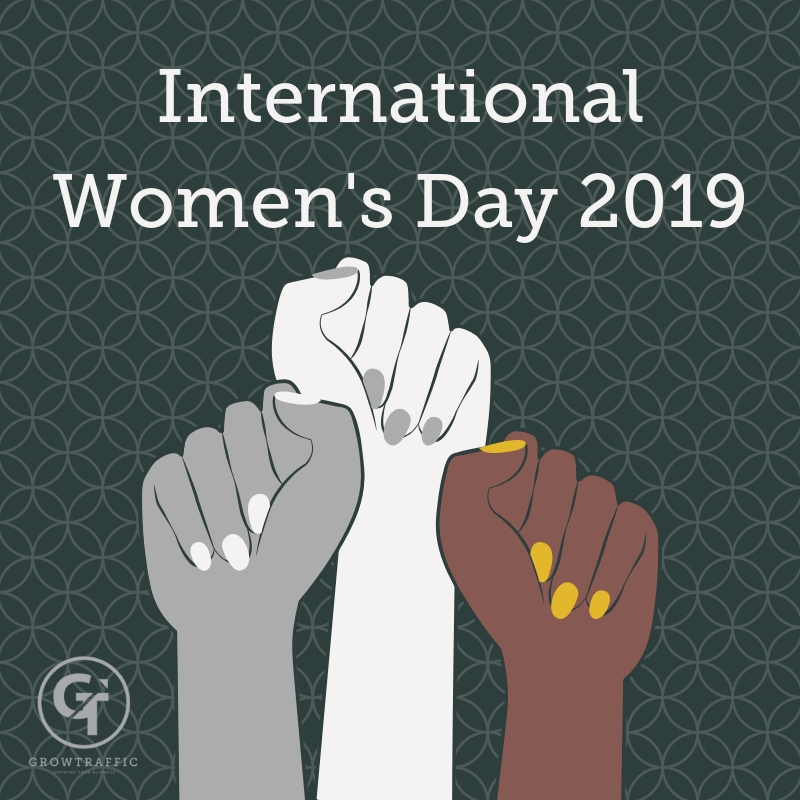 International Women's Day 2019 Title Graphic