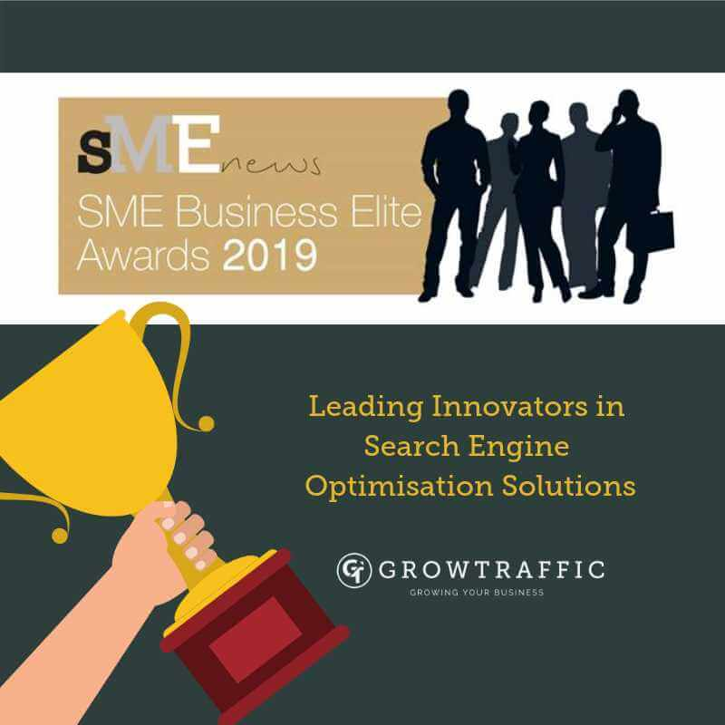 GrowTraffic Named As Leading Innovators In Search Engine Optimisation Solutions