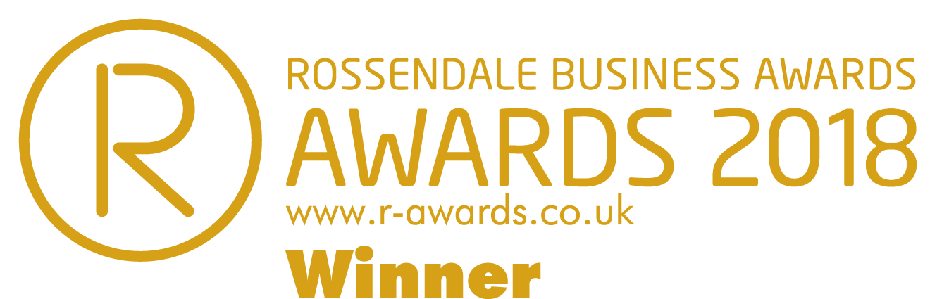 Winners of Business Of The Year at Rossendale Business Awards 2018