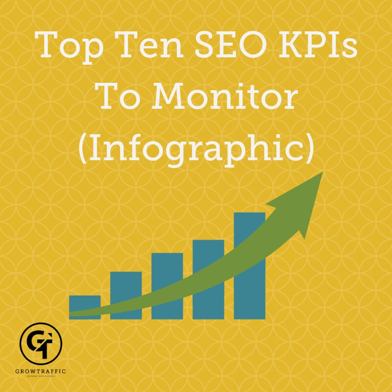The Top Ten SEO KPIs To Monitor (Infographic)