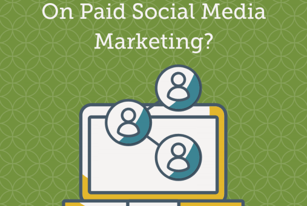 Title graphic for GrowTraffic blog entitled Should I Spend Money On Paid Social Media Marketing