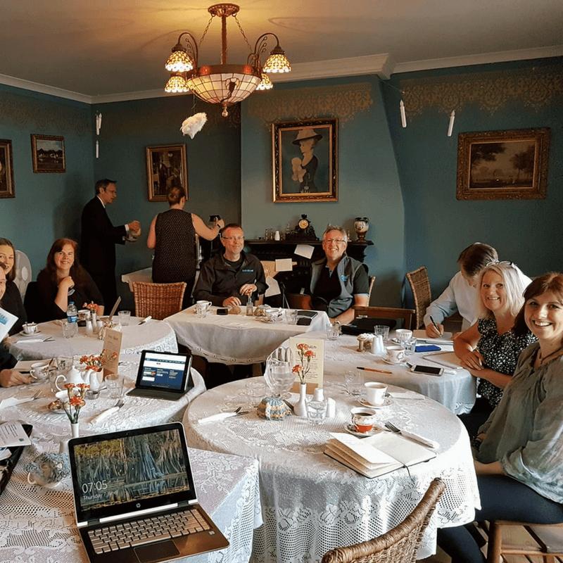 GrowTraffic networking at Haslingden BoB Club