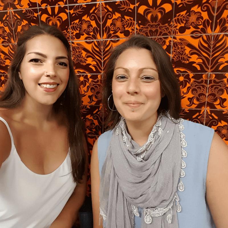 Hannah Weinhold and Rachel Weinhold