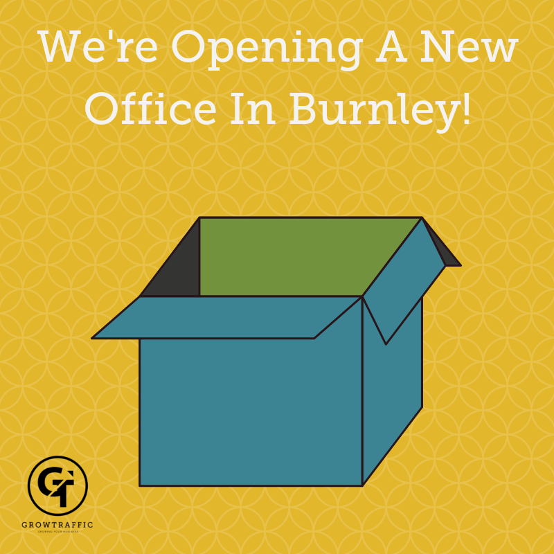 We're opening an office in Burnley!