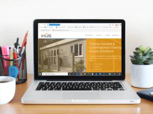 image of iHUS webste for case studies