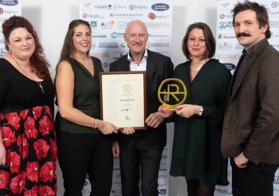 GrowTraffic winning award